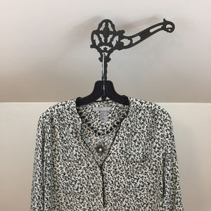 H&M Conscious V Neck Blouse, used for sale